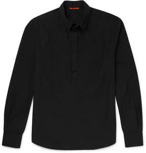 Barena Slim-Fit Half-Placket Cotton Shirt