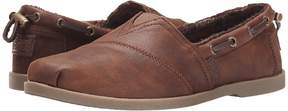 Skechers BOBS from Chill Luxe - Buttoned Up Women's Slip on Shoes