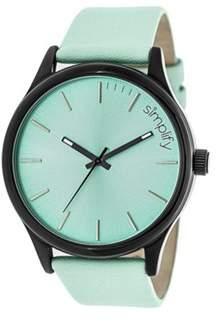 Simplify Men's The 2400 Quartz Watch.