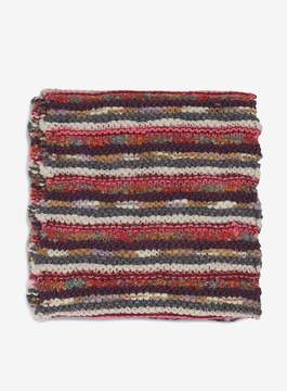 Dorothy Perkins Multi Coloured Folk Striped Knitted Snood