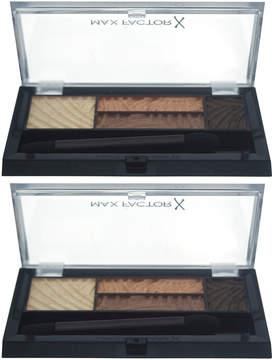 Max Factor Sumptuous Golds Smoky Eye Drama Palette - Set of Two