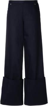 Chalayan cuff trousers