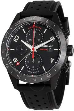 Montblanc TimeWalker Black Dial Men's Chronograph Rubber Watch
