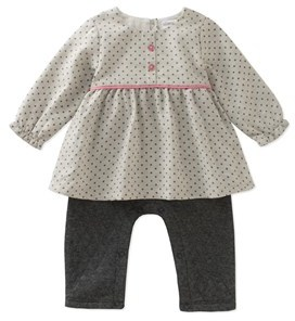 Absorba Girls' Popover Coverall.