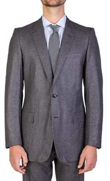 Christian Dior Men's Wool Two-button Suit Light Grey.