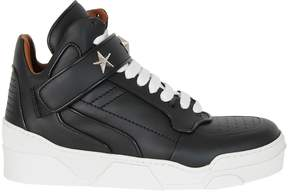 Givenchy Black Tyson Mid Sneakers