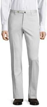 Incotex Slim-Fit Linen-Blend Pants