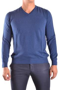 Altea Men's Blue Cotton Sweater.