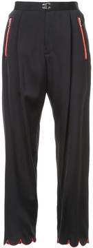 Kolor high rise cropped trousers