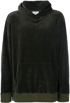 Miharayasuhiro textured oversized hoodie