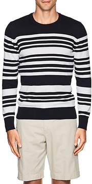 Orlebar Brown MEN'S NULTY STRIPED COTTON-LINEN SWEATER