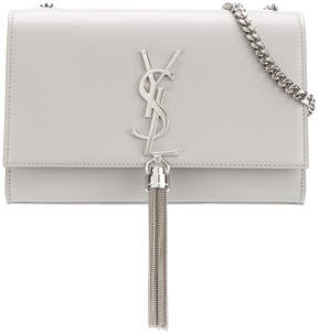 Saint Laurent medium Kate tassel satchel - GREY - STYLE