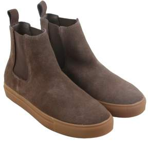 Steve Madden Dalston Taupe Suede Mens Casual Dress Boots