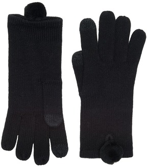UGG Smart Gloves with Fur Pom Extreme Cold Weather Gloves