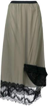 Antonio Marras lace trimmed skirt
