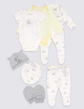 Marks and Spencer 7 Piece Unisex Pure Cotton Outfit