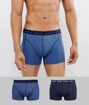 Solid 2 Pack Boxers