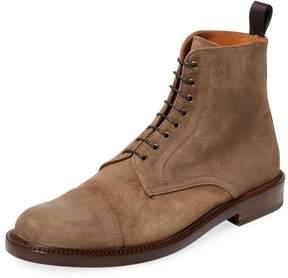Antonio Maurizi Men's Cap Toe Chukka Boot