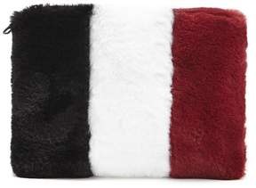 Forever 21 Plush Colorblock Pouch