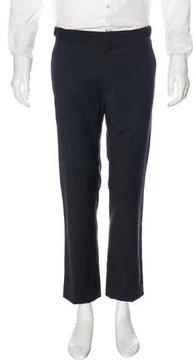 Marc Jacobs Silk-Trimmed Wool Dress Pants