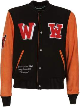 Off-White Eagle Varsity Jacket