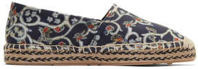 Isabel Marant Navy Canaee Floral Espadrilles