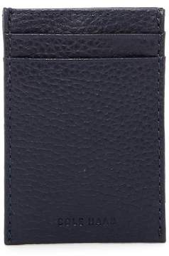 Cole Haan Leather Card Case with Money Clip