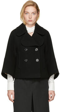 Chloé Black Wool Peacoat
