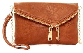 Urban Expressions Lucy Mini Flap Convertible Vegan Clutch