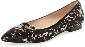 LK Bennett L.K.Bennett Women's Holly Pointed-Toe Flat