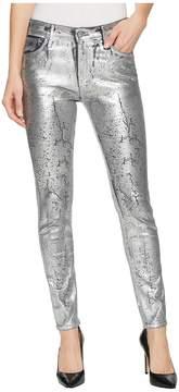 AG Adriano Goldschmied Farrah Skinny Ankle in Iced Silver Women's Jeans