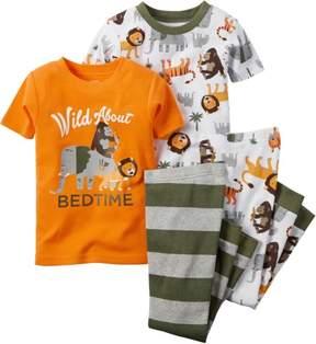 Carter's Baby Boys 4-pc. Wild About Pajama Set