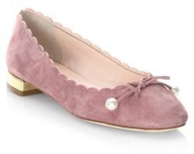 Kate Spade Murray Vintage Leather Ballet Flats