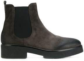 Strategia worn-effect ankle boots