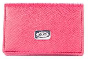 Tod's Leather Card Holder