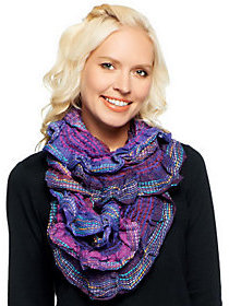 Collection XIIX Collection 18 Textured Scrunch Infinity Scarf