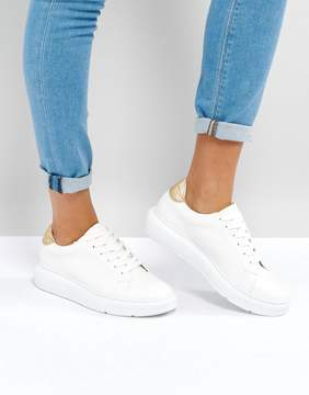 Asos DUAL Chunky Lace Up Sneakers