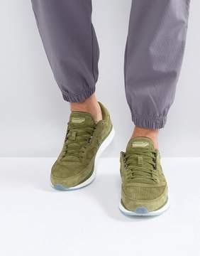 Saucony Freedom Runner Sneakers In Green S40001-3