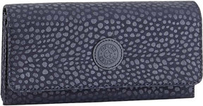 Kipling Brownie large nylon wallet - BLACK SCALE EMB - STYLE