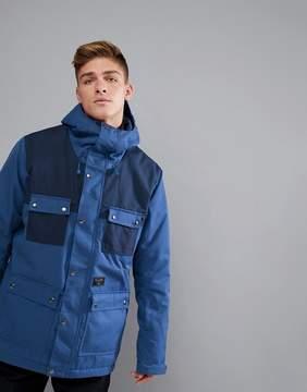 Billabong Working Snow Jacket in Dark Blue
