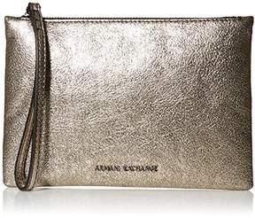 Armani Exchange A X Small Metallic Pouch