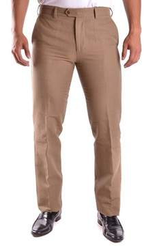 Aspesi Men's Brown Wool Pants.