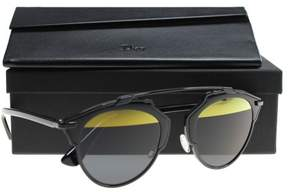 Christian Dior New Sunglasses Womens DIORSOREALS Black B0YT1 DIORSOREALS 48mm