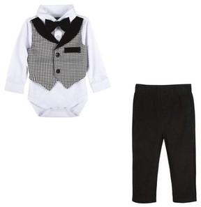 Andy & Evan Infant Boy's Pants, Shirt & Bow Tie Set