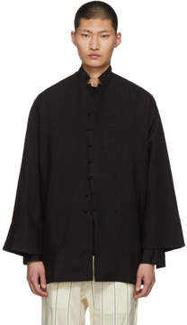 SASQUATCHfabrix. Black Marebito Coat