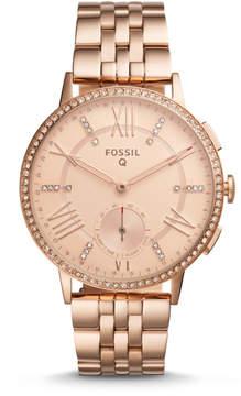 Fossil Hybrid Smartwatch - Q Gazer Rose Gold-Tone Stainless Steel
