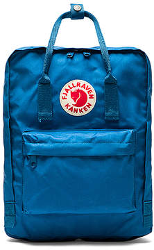 Fjallraven Kanken in Blue.
