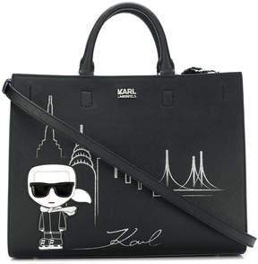 Karl Lagerfeld NYC tote