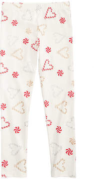 Epic Threads Mix and Match Candy Cane-Print Leggings, Little Girls (4-6X), Created for Macy's