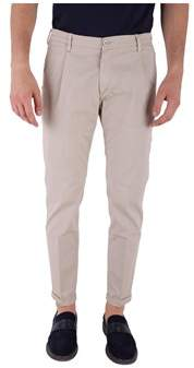 Re-Hash Men's Beige/grey Cotton Pants.